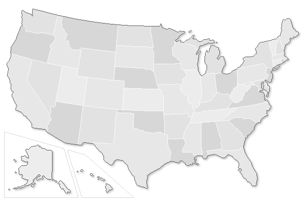 Chef Schools USA Career Info Training Requirements - Map of chefs in us